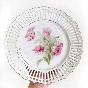 Decorative Vintage Spring Floral Trinket Dish